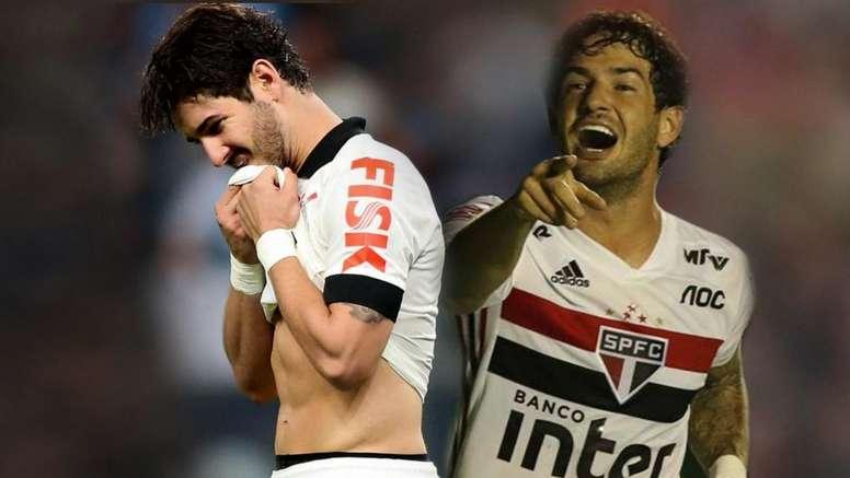Pato reencontra o Corinthians após tirar até mesmo Tite do sério.