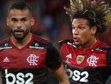 Thiago Maia encanta no Flamengo e ameaça Willian Arão. AFP