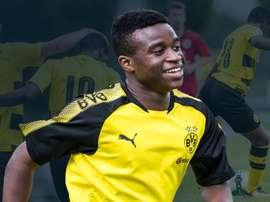 Moukoko se tem destacado nas camadas jovens dos 'aurinegros'.  Goal