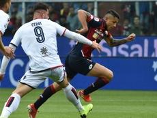 Criscito sul gong: il Genoa riacciuffa il Cagliari. Goal