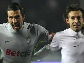 Pirlo sympathises with his former team-mate. GOAL