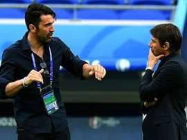 Buffon ha parlato del rapporto con Conte. Goal