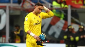 Donnarumma is set for a spell on the sidelines. GOAL