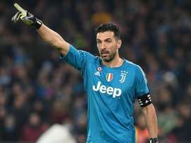 Buffon will always answer Juve call. AFP