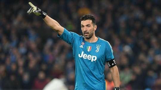 Buffon will always answer Juve call. AFP
