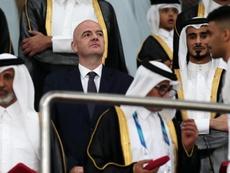 La FIFA abandonne l'idée d'un Mondial 2022 avec 48 équipes. AFP
