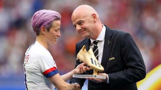 FIFA considering biennial Women's World Cup, says Infantino. GOAL