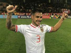 Joseph Chipolina scored to goal to hand Gibraltar the victory. GOAL