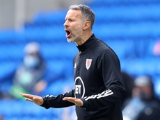 Ryan Giggs is confident Wales can beat England in October. GOAL