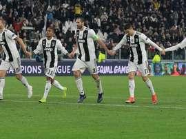 Juventus edged a win. GOAL