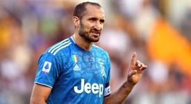 Chiellini retenu dans la liste de la Juventus pour la C1. GOAL