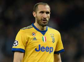 Chiellini set for two weeks out