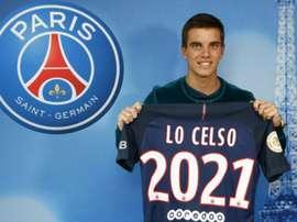 Recruté l'été dernier, Lo Celso est resté avec son club formateur de Rosario Central en prêt. Goal