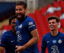 Chelsea - Werner, Abraham… Giroud prévient la concurrence!