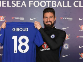 Grioud completed his move to Chelsea. GOAL