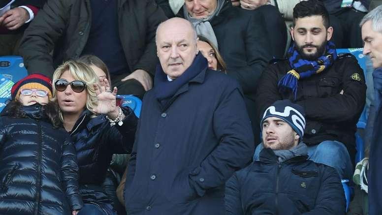 Inter, Marotta: 'Scudetto? Credo che la Juventus ce la farà'. Goal