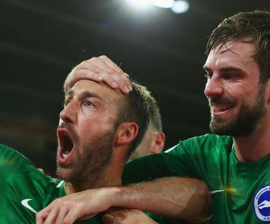 Hughton hails Murray's cool head as Brighton fight back again