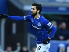Everton's Gomes thanks supporters for 'positive energy'. GOAL