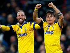 Dybala bid goodbye to higuain afte rhis loan move to AC Milan. GOAL