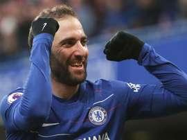Gonzalo Higuain, Chelsea.