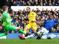 Higuain has struggled to find the back of the net. GOAL