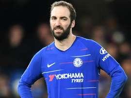 Higuain has found Premier League tough, admits Chelsea boss Sarri.