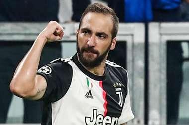 Gonzalo Higuain Juventus 2019-20