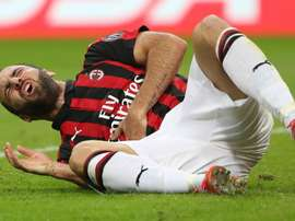 Higuain has injury troubles. GOAL