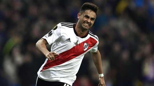 O adeus de Pity Martínez. Goal