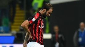Higuain will not be fit for the game. GOAL