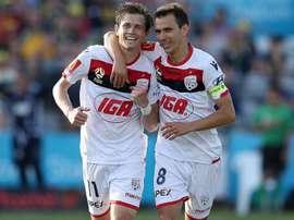 Adelaide grabbed a vital victory. GOAL