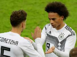 Goretzka would be happy to see Sane at Bayern. GOAL
