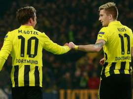 Gotze and Reus both got on the scoresheet. Goal