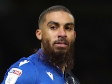 Lewis Grabban rescued a point late on for Forest at Middlesbrough. GOAL