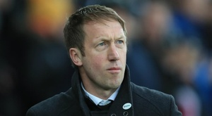 Potter takes over as Brighton boss. Goal