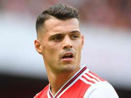 Xhaka remains absent for Arsenal. GOAL
