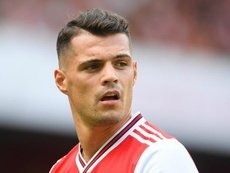 Xhaka says loss at Liverpool will not knock them back. GOAL