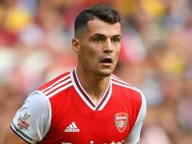 Emery says Xhaka is not back in the Arsenal squad at the player's request. GOAL