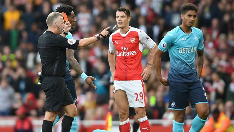 Xhaka says that he will continue to be aggressive. Goal