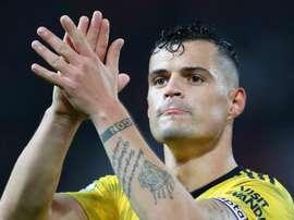 Xhaka back for Arsenal v Eintracht. GOAL