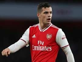 Emery unsure if Xhaka will play for Arsenal again. GOAL