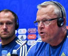 Em entrevista coletiva o treinador e o capitão da Suécia deixaram o favoritismo de lado. Goal