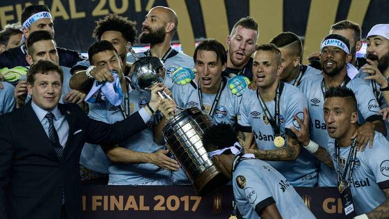O 'Tricolor gaúcho' venceu a Copa Libertadores em 2017. Goal