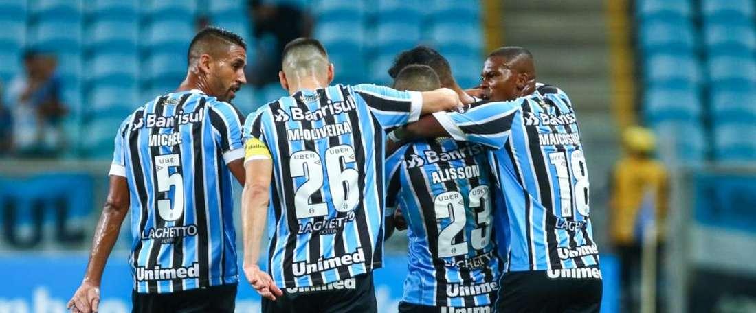 Grêmio 3 x 1 Goiás: sem sustos, 'mistão' tricolor garante classificação às quartas da Copa do Brasil