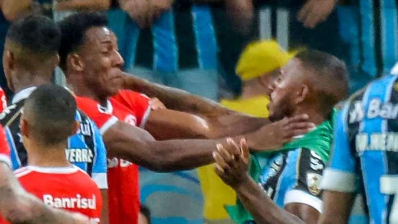Grêmio x Inter não chegou nem perto do recorde de expulsões na Libertadores