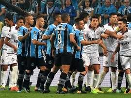 Jogo de ida da final da Libertadores não foi bem pacífico. Goal