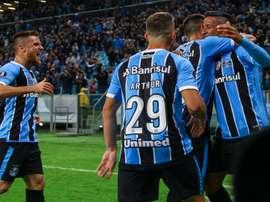 Grêmio-Barcelona (EQU). Goal
