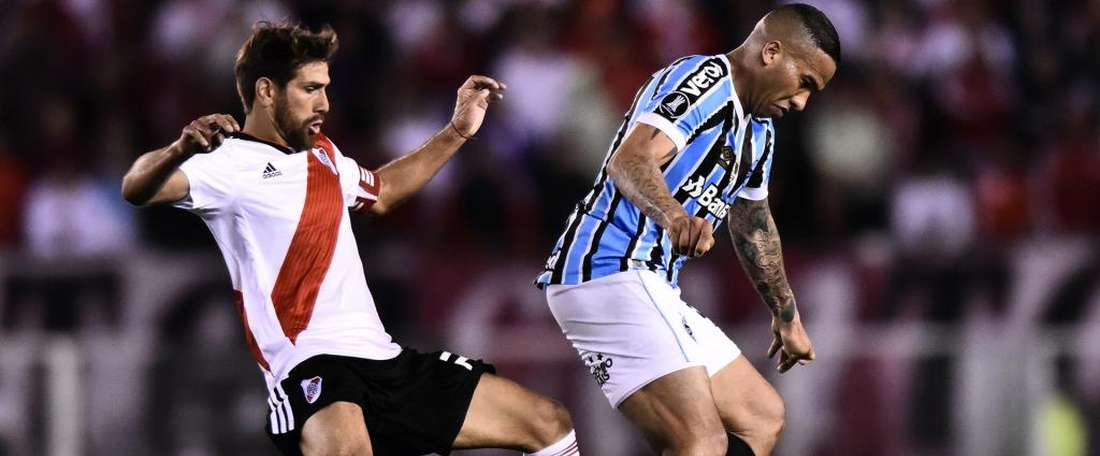 Gremio are in control ahead of the second leg. GOAL