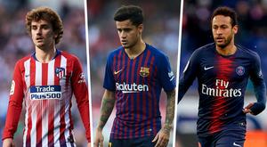 Neymar, Griezmann e Coutinho: 1º de julho irá definir futuro do Barcelona