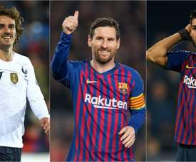 Griezmann's arrival means a change is imminent for Barcelona's line-up. GOAL